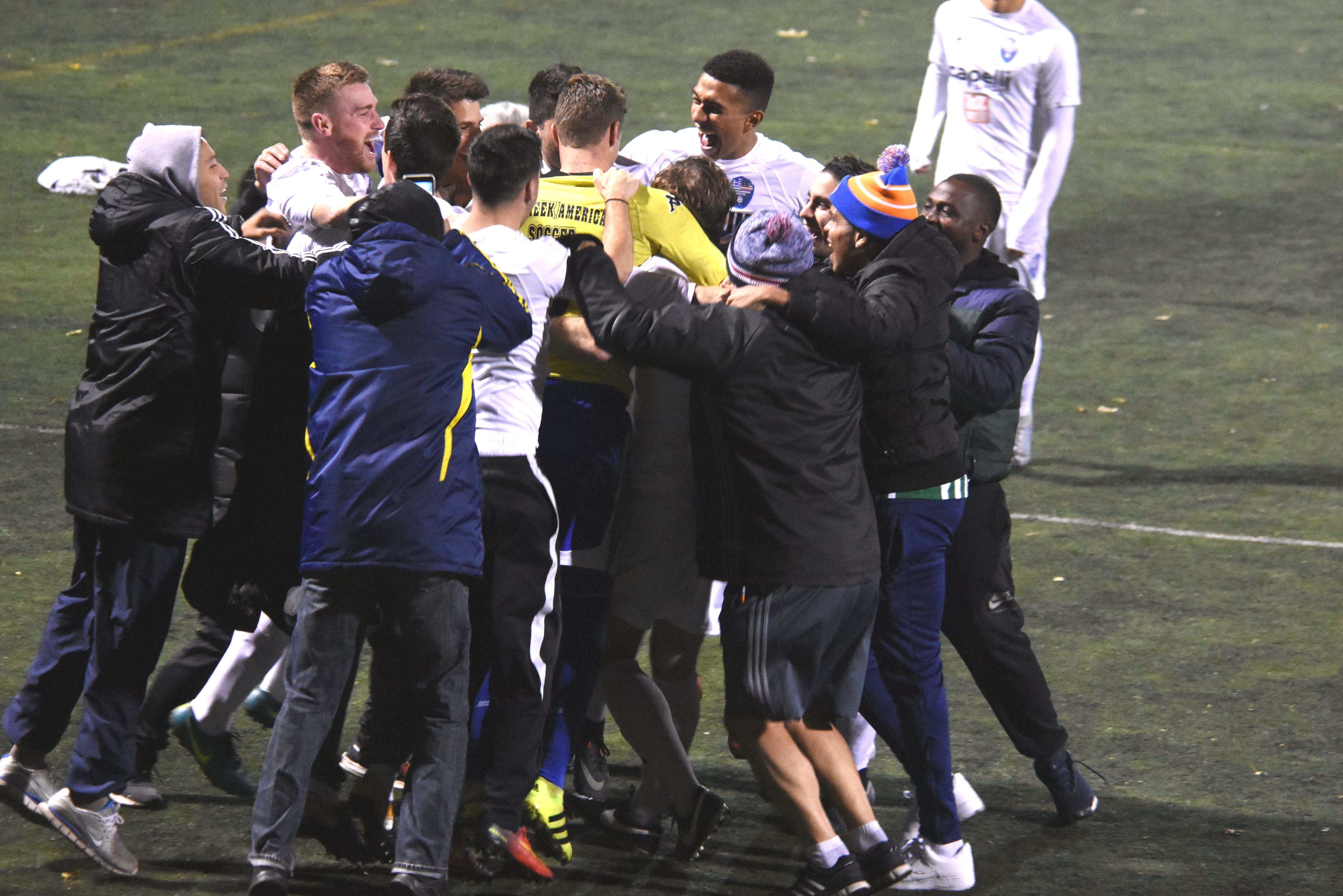 Inside look at NY Greeks' ENY Amateur Cup win