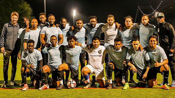 Feature on Sporting SC Reserve - South Bronx United naugural season in the CSL!